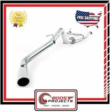 MBRP Cat Back Exhaust Single Side T409 for Nissan Frontier 4.0L V6 EC/CC-SB Only