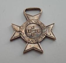 BRAZIL original Triple Alliance war medal order badge Campanhia do Paraguay 1870