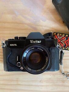Vivitar 400/SL Vintage 35mm Film Camera Perfect Condition