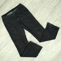 prAna Jada Boot Cut Jeans Womens Sz 4/27 (30 x 32) W4JARG115 Dark Gray Denim