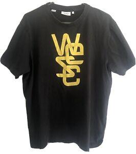 Wesc Stockholm Sweden Mens  Size Large Black T-shirt