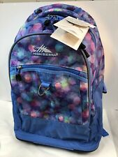 High Sierra Ladies Chaser Wheeled Laptop Backpack Rolling Travel Bag NEW