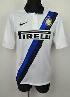 FC INTER MILAN Away Shirt 2011 2012 Men Small Adult Jersey Internazionale Trikot