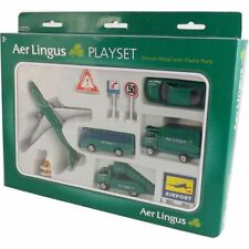 Aer Lingus - Irish Airlines Airport Playset Diecast Metal with Plastic Parts