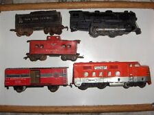 MARX Southern Pacific 6000 and  999 Locomotive 2 Engine Set 1950's Vintage