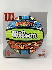 Wilson Beach Recreational Volleyball Official Surface Beach - Ocean Graffiti NEW