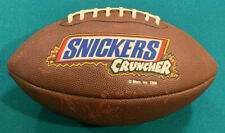 Limited Edition Candy Show Edition Wilson Snickers Cruncher Promotional Football