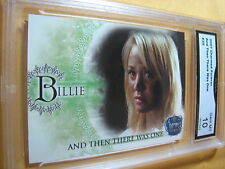 PENNY BILLIE KALEY CUOCO 2007 CHARMED FOREVER AND THEN THERE WAS ONE GRADED 10