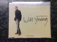 Will Young Leave Right Now / Ticket To Love Live Exeter Festival 2003 Ltd CD