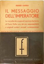 IL MESSAGGIO DELL'IMPERATORE - FRANZ KAFKA - FRASSINELLI