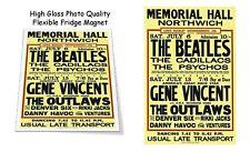 "The Beatles 1963 Norwich England Concert Poster 3""X4"" FRIDGE MAGNET"
