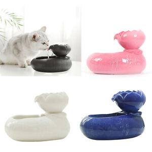 Trinkbrunnen Haustier Automatisch Katzen Wasserspender mit Filter Superleise