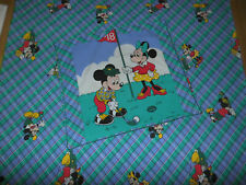 New listing Minnie Mouse Mickey Mouse Golf Bedding 80er Bedding Fabric Vintage 80s Disney