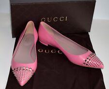 GUCCI Scarpe da donna in pelle rosa Ballerine Tg. 37,5