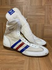 Vintage🔥 Adidas Rocky IV Boxing Boots Red White Blue Sz 10.5 Men's Very Rare