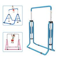 Adjustable Gym Horizontal Bar Kids Gymnastics Training Kip Sports Home Fitness