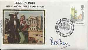Opera, Peter Pears , signed silk stamp cover, Royal Opera House 7th May 1980