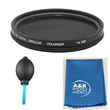 72mm Pro Multi-Coated Hi Resolution Polarized Filter For Nikon 18-200mm 24-85mm