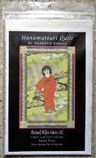 Miranda Stewart - HANAMATSURI - Inch Quilt PATTERN - Michael Miller Fabrics