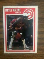 1989-90 Fleer  #4  Moses Malone Atlanta Hawks NrMt