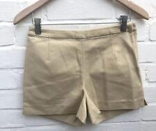Neue h&m beige Hotpants Shorts Hoch Tailliert 34 6 formale Party Blogger Festival