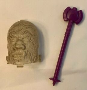 1984 Count Creepyhead Kenner Play-Doh Monster Faces Accessory Lot Werewol