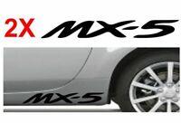 2 x mazda mx5 mx-5   Sticker   Decal