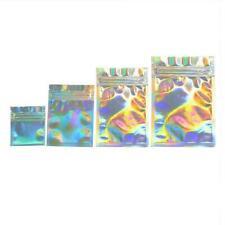 100pcs/set Foil Pouches Food Storage Zipper Smell Bags Proof Bags