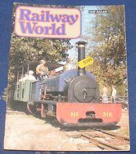 RAILWAY WORLD APRIL 1980 - HATFIELD
