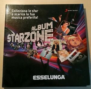 STARZONE ALBUM completo ESSELUNGA SONY MUSIC