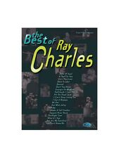 The Best of Ray Charles apprendre à jouer présent Music Book Piano Vocal & Guitar