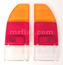 Fiat 124 Coupe CC Set Rear Taillight Lenses Set New