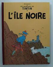 TINTIN ** T7 L ILE NOIRE FAC SIMILE COULEUR 1943  ** EO NON RECTIFIEE!!! HERGE