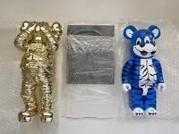 Bearbrick Display Acrylic Case400% Kaws Be@rbrick Vinyl Toy Custom Box USA SHIP
