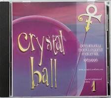 PRINCE CD Crystal Ball Volume 1 - 10 Track single album jewel case