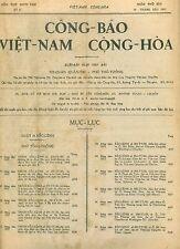 CÔNG BÁO VNCH 1972 Đại Tá Đào Quang Hiển, Gen. Nguyễn Vỉnh Nghi & Vũ Văn Giai