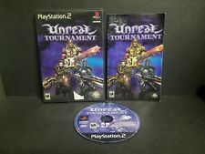 Unreal Tournament (Sony PlayStation 2, 2000) PS2 Complete