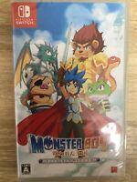 Monster Boy cursed kingdom Nintendo Switch Japanese/English/Others Tracking NEW