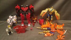 Various Power Rangers Parts & Figures TigerZord Deluxe T-Rex Super Charge + More
