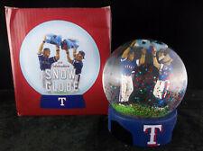 BDA Sports MLB Baseball 2018 Celebration Texas Rangers Snow Globe Odor & Andrus