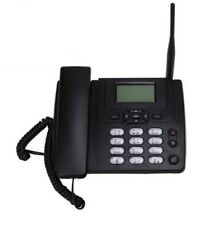 Fixed Wireless GSM Desk Phone SIM Card Mobile Home Office Desktop Telephone New