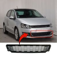 Vw Polo 2009-2014 Front Bumper Grille Centre Lower Insurance Approved UK Seller