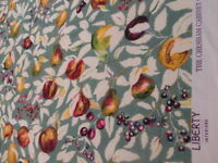 LIBERTY of London Fruit Billett Linen Viscose in Lemon Tree Fabric Curtain 5mts