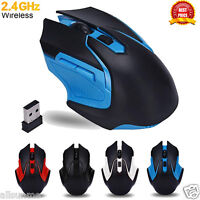 3200DPI 6 Keys 2.4GHz Wireless Optical Gaming Mouse Mice For Computer PC Laptop.