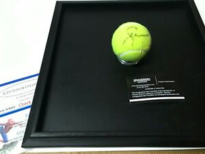 SERENA WILLIAMS SIGNED AUTOGRAPHED NEW FRANKLIN TENNIS BALL WITH COA