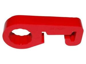 Quick Release Hi Lift Jack Polyurethane Anti Rattle Handle Clamp Holder Red