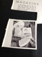 M3-2 Ephemera 1950 Picture Toledo Muirhead Glasgow Red Cross Nurse Fancy Dress