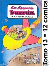 FAMILIA BURRON TOMO 13 Book MEXICAN Borola *12 COMICS* NEW - HUMOUR IN SPANISH
