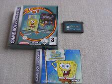2 in 1 Spongebob & Jimmy Neutron GBA komplett