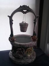 Wishing Well with roses made in Italy